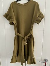 H&M Khaki Dress Size 8