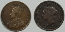 1886 1916 1 CENT CANADA LOT OF 2 - PLEASING CIRCULATED EXAMPLES!