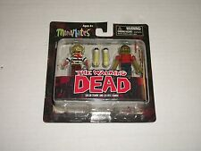 The Walking Dead Minimates Series 2 SAILOR ZOMBIE AND LEG BITE ZOMBIE 2 Pack