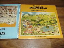 Maria de Posz / Thea Leitner -- SOMMERTAG - WINTERTAG // 1. Auflage 1986