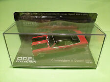 COLLECTION OPEL COMMODORE A COUPE GS/E - RED1:43 - MIB UNOPENED CARD BLISTER