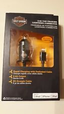 FUSE Harley-Davidson 2.4A 6 Ft. iPhone/iPad Car Charger #07783