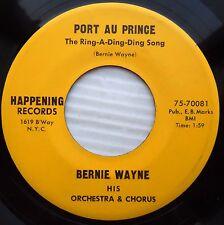 BERNIE WAYNE 50's EXOTICA Popcorn 45 Port au Prince There she is Miss America eP