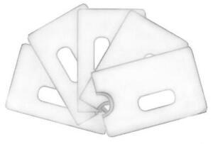 20 x Transparent  KREDITKARTENHÜLLE SCHECKKARTENHÜLLE  - BANKKARTENHÜLLE