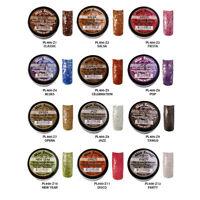 12pcs Mia Secret Fiesta Nail Art Powder Professional Acrylic 12 Colors USA Made