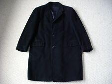 Men's Vintage 70's 100% Cashmere Coat Black G. Fox Co. Hartford Ct Conn Medium?
