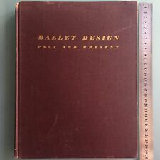 1946 ART RUSSIAN THEATER COSTUME BALLET DESIGN BOOK. BAKST,DOBUZHINSKY,BENOIS