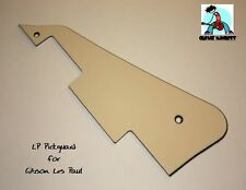 Cream 3-ply Pickguard for Les Paul fits Gibson    Custom