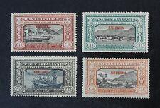 CKStamps: Italy Stamps Collection Eritrea Scott#75-78 Mint NH OG