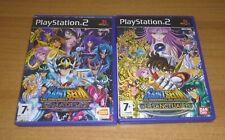 2 jeux PS2 - Saint seiya les chevaliers du zodiaque : le sanctuaire + hades