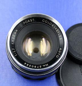 Porst Color Reflex Car Lens 1.7/50mm For M42