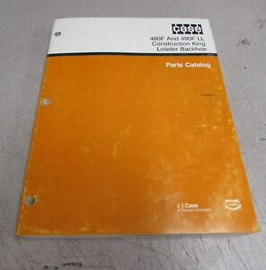 Case 480F LL Construction King Loader Backhoe Parts Catalog Manual 8-6220 1989