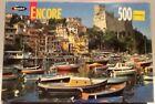 Encore 500 Piece Puzzle Roseart Lerici Italy Castle Boat Village Bay Scene