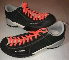 Scarpa Mojito Approach Suede Leather Black Mens Hiking/Casual Shoes US 8 EU 41.5