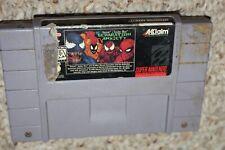 Separation Anxiety Spider-Man (Super Nintendo SNES) Cart Only FAIR
