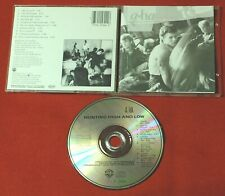 A-HA Hunting High And Low 1985 SWITZERLAND GERMANY CD MINT! rare AHA no target