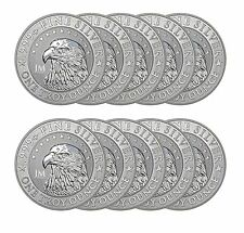 1 oz JM Bullion Eagle Silver Round (New, Reverse Proof-Like, Lot of 10)