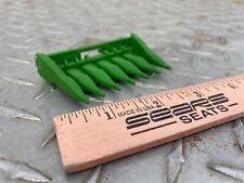 1/64 custom Ertl farm toy 6 row corn head John Deere combines descrip For model