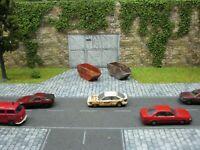 Rietze PKW Audi Coupe gealtert & gerostet Modellbau Scheunenfund Diorama H0 1:87