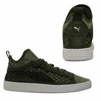 Puma Basket Classic NETFIT Mid Mens Lace Up Trainers Textile Shoes 364249 03 B3B
