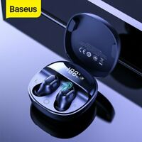 Baseus Bluetooth 5.0 Kopfhörer TWS In-Ear Ohrhörer Touch Headset LED Ladebox