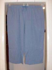 Plus Size Heather Blue Cozy Comfort Sweatpants 5X Petite