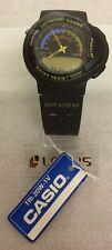 RARE Casio TRI-20W modello 793 Tri SPORT SCALA WR.100m