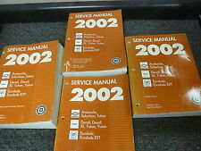 2002 Cadillac Escalade EXT SUV Truck Shop Service Repair Manual 5.3L 6.0L V8 AWD