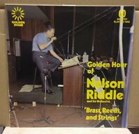 Golden Hour Of Nelson Riddle And His Orchestra UK Vinyl LP EXCELLENT CONDITION
