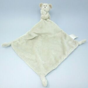 Little White Company beige monkey chimp soother comforter blankie baby soft toy