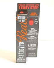 Benefit Cosmetics They're Real Double The Lip Lipstick & Liner LUSTY ROSE NEW