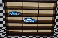 Wall Display/Show case for up to 15, 1:43 Scale Model Cars Nascar, F1, BTCC