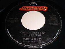 Marcia Hines: Your Love Still Brings Me To My Knees 45 - Soul