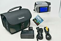Panasonic PV-GS90PC MiniDv Mini Dv Camcorder for Player / Video Transfer Bundle