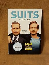 Suits: Season One (DVD, 2012, 3-Disc Set)