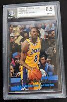 1996 Topps Stadium Club # R12 Kobe Bryant RC BCG 8.5 Mint! Rookie Lakers