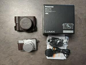 Panasonic LUMIX LX-100 Silver and add-ons