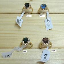 Roxi high quality woman ring with genuine stone (choice colors & sizes)