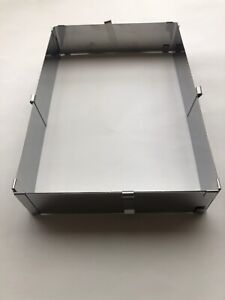 Backrahmen rechteckig verstellbar Backform flexibler Tortenrahmen