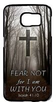 For Samsung Galaxy Devices Case Cover Christian Quotes Cross Bible Verse Isaiah