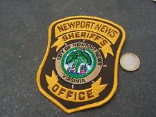 PATCH POLICE ECUSSON COLLECTION  USA   police newport