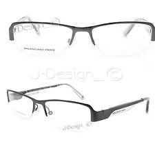 BALENCIAGA PARIS BAL0061 G06 Half Rimless Eyeglasses Made Italy - New Authentic