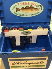 Shakespeare Team Seat Box Tackle Trays For Rig winders, Line, Bait Thread, Etc