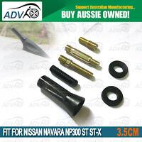 ANTENNA STUBBY BEE STING FITS NISSAN NAVARA NP300 ST ST-X 2014> 20 BLACK 3.5CM
