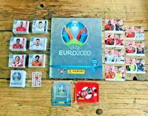 Panini EURO 2020 PEARL Complete Set 1-678 + Empty Album + Coca Cola C1-C14