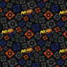 """Hasbro Nerf of Nothing 100% Cotton Fabric Remnant 29"""""""