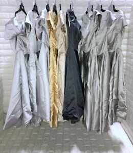 Wholesale Lot of 9 Women's Prom Bridesmaid dresses Formal Party Gown dress