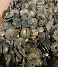 Original WW2 British Army Helmet Liner Screw & Nut Set - Brodie Helmet Dome Nut