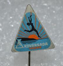 KOVERSADA VRSAR FKK Naturist Park Croatia Nudist camp beach pin Anstecknadel 1