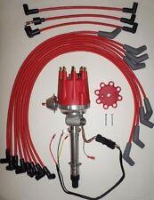 Small Cap CHEVY CORVETTE Tach Drive 396-427-454 RED HEI Distributor & Plug wires